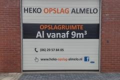 Deur van Pand Heko Opslag Almelo