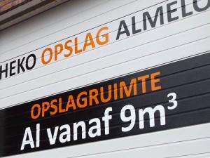 Garagebox huren in Almelo bij Heko Opslag Almelo