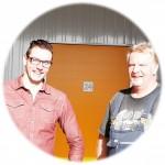 Leon (links) en Henk Koerssen van Heko Opslag Almelo